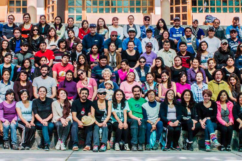 Team vor Ort in Cusco