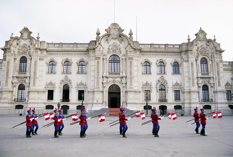 Regierungspalast Lima